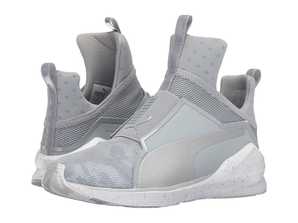 PUMA Fierce Camo (Quarry/Puma White) Women