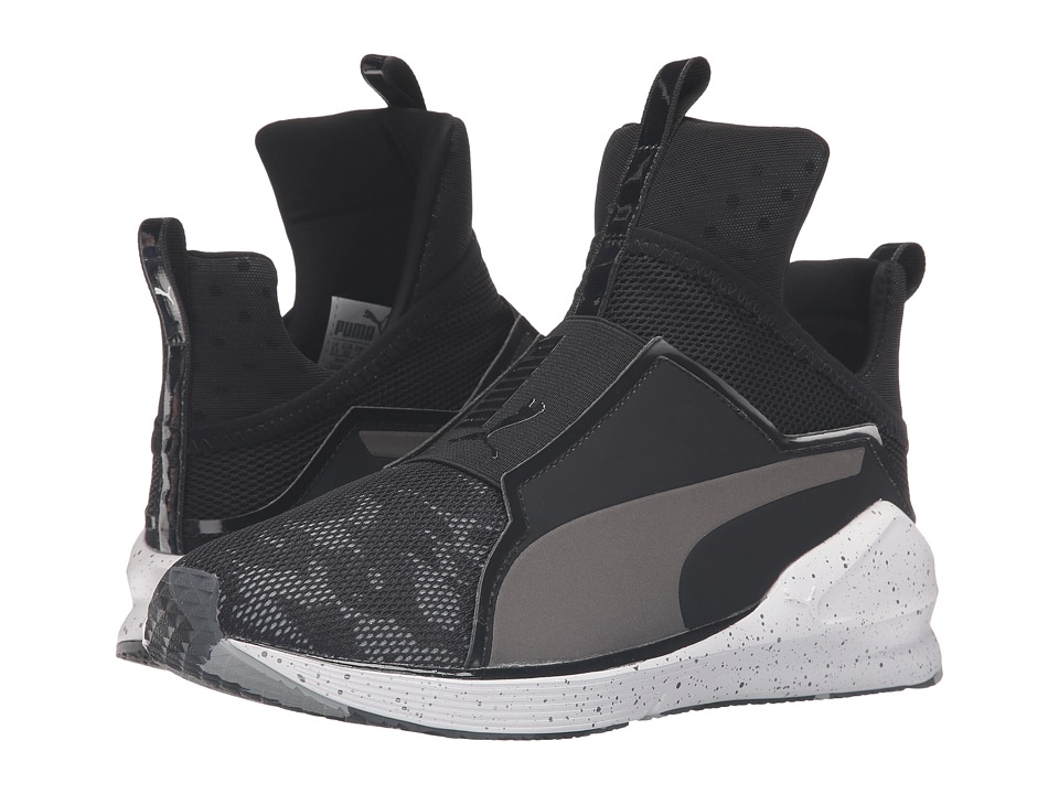 PUMA - Fierce Camo (Puma Black/Puma White) Women's Running Shoes