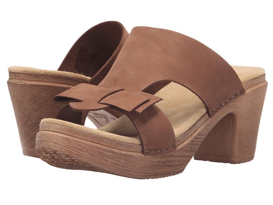 Calou Stockholm - Linn (Brown Nubuck) Women's Shoes