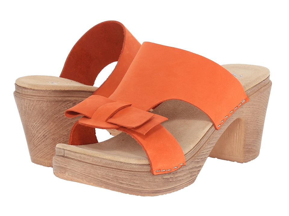 Calou Stockholm - Linn (Orange) Women's Shoes