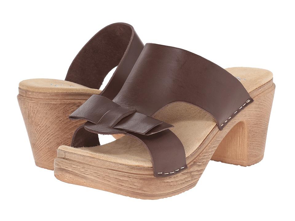 Calou Stockholm - Linn (Brown Leather) Women's Shoes