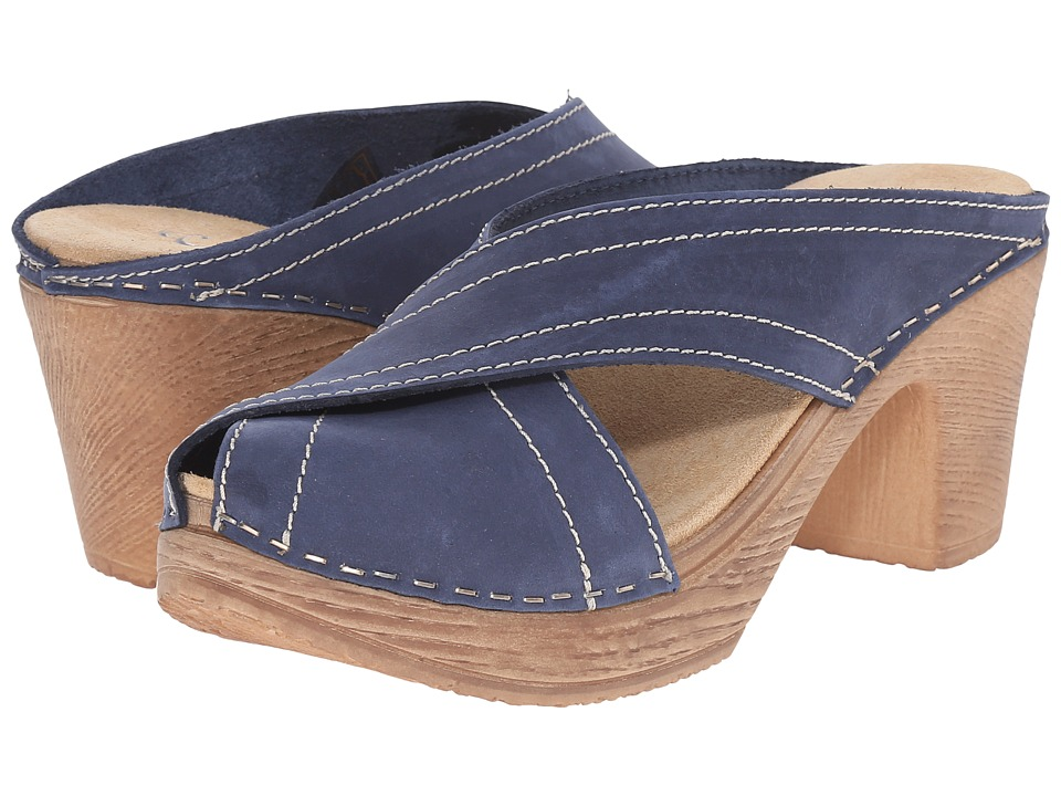 Calou Stockholm - Marie (Blue) Women's Shoes