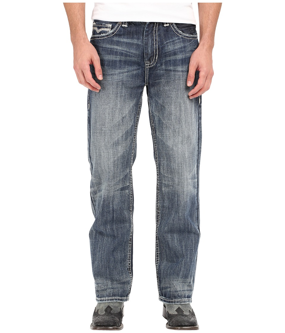 Rock and Roll Cowboy - Double Barrel in Medium Vintage M0S6632 (Medium Vintage) Men's Jeans