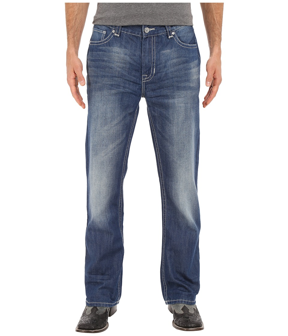 Rock and Roll Cowboy - Double Barrel in Dark Wash M0D6628 (Dark Wash) Men's Jeans