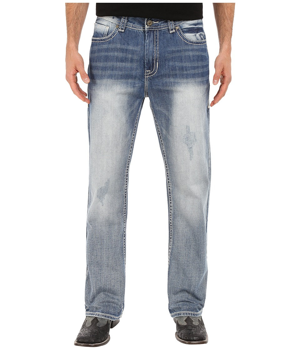 Rock and Roll Cowboy - Double Barrel in Light Vintage M0D6631 (Light Vintage) Men's Jeans