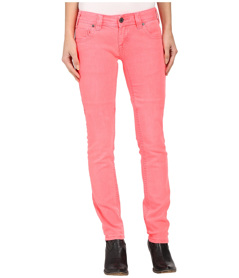 Rock and Roll Cowgirl Low Rise Skinny in Hot Pink W0S6446 (Hot Pink) Women