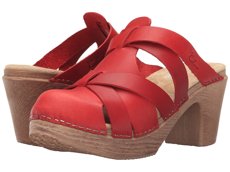 Calou Stockholm - Nancy (Red) Women's Shoes