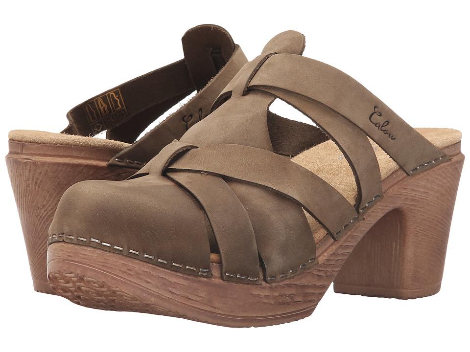 Calou Stockholm - Nancy (Olive) Women's Shoes