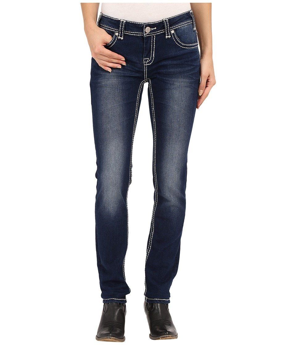 Rock and Roll Cowgirl - Low Rise Skinny in Dark Vintage W0S6456 (Dark Vintage) Women's Jeans