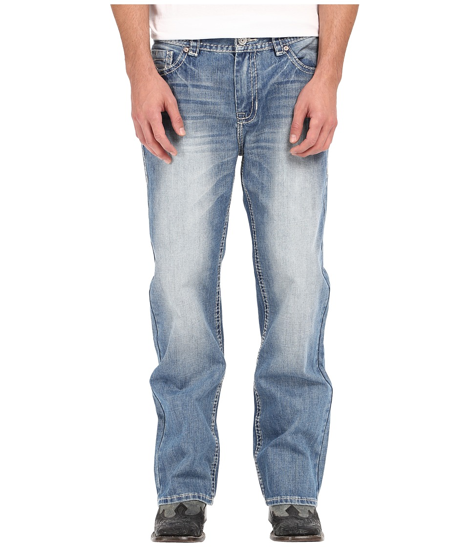 Rock and Roll Cowboy - Double Barrel in Medium Vintage M0S6637 (Medium Vintage) Men's Jeans