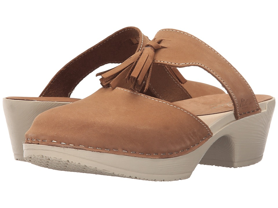 Calou Stockholm - Penny Strap (Brown Nubuck) Women's Shoes
