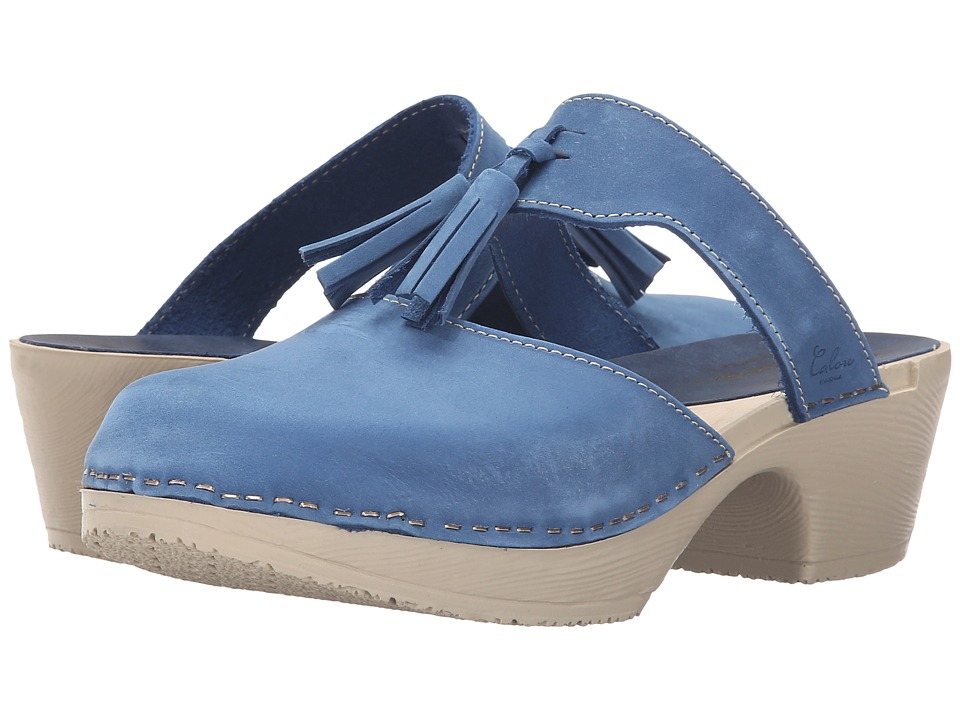 Calou Stockholm - Penny Strap (Blue) Women's Shoes