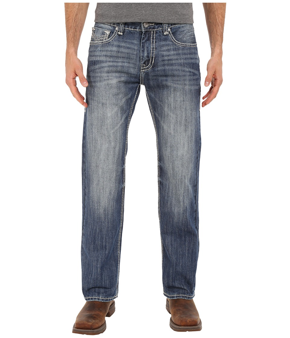 Rock and Roll Cowboy - Pistol Straight Leg in Medium Vintage M1P6645 (Medium Vintage) Men's Jeans