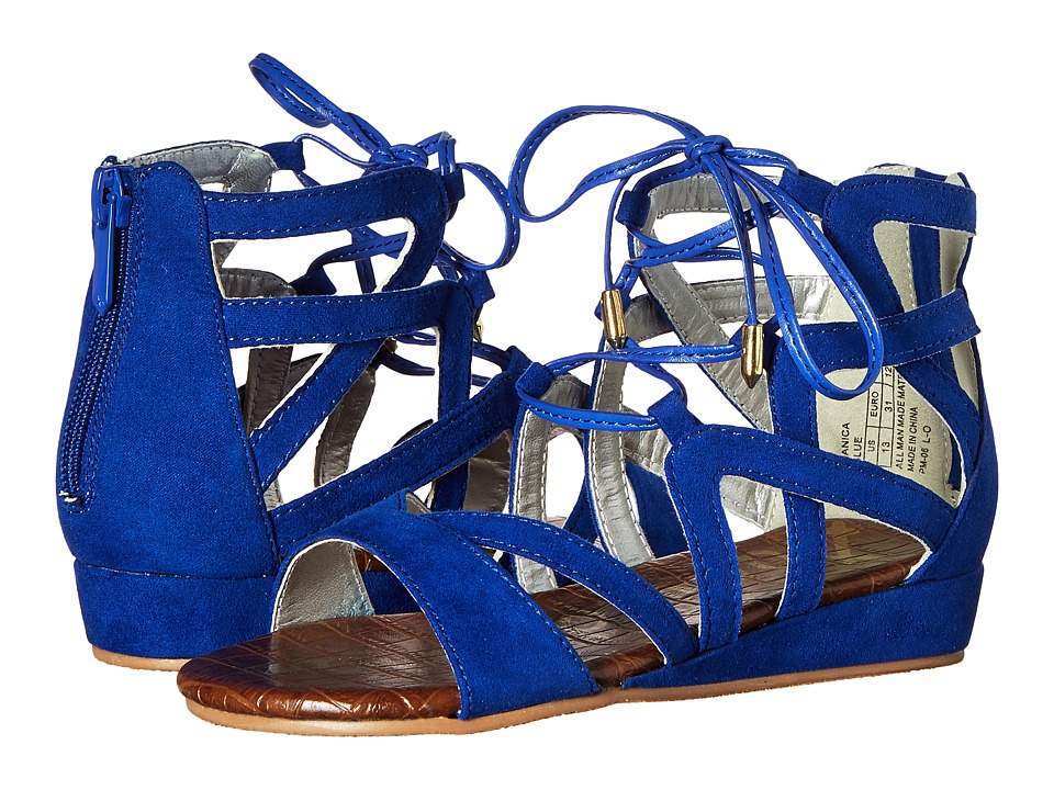 Sam Edelman Kids - Danica Lace-Up (Little Kid/Big Kid) (Sailor Blue) Girl
