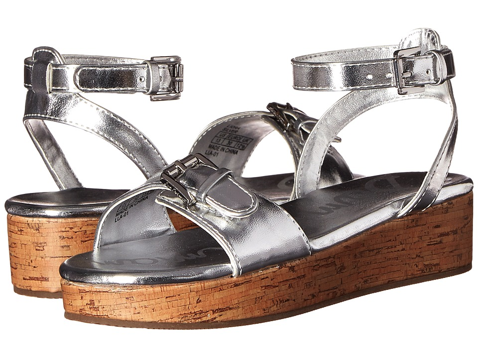 Sam Edelman Kids - Liora (Little Kid/Big Kid) (Silver Metallic) Girl