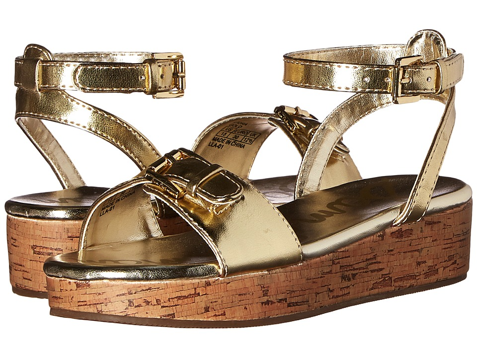 Sam Edelman Kids - Liora (Little Kid/Big Kid) (Gold Metallic) Girl