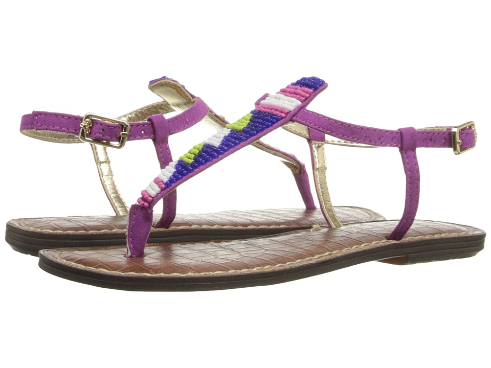 Sam Edelman Kids - Gigi Beaded (Little Kid/Big Kid) (Pop Fuchsia) Girl