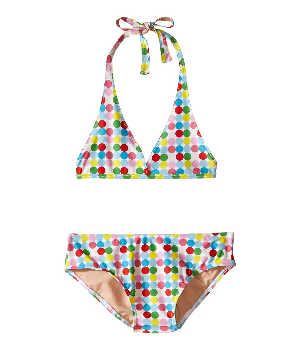 Toobydoo - Dot String Bikini (Infant/Toddler/Little Kids/Big Kids) (Green/Blue/Red/Yellow/White Dot) Girl's Swimwear