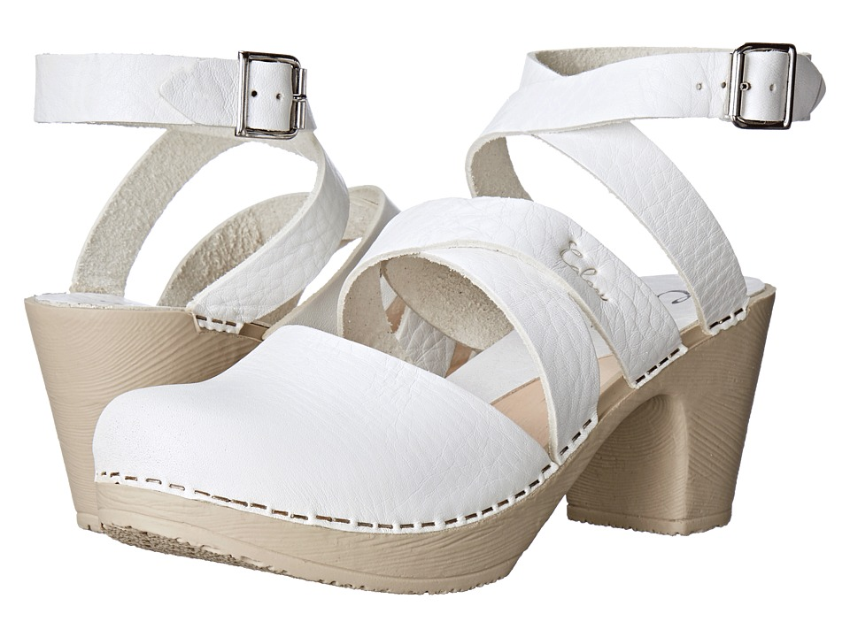 Calou Stockholm - Stina (White) Women's Shoes