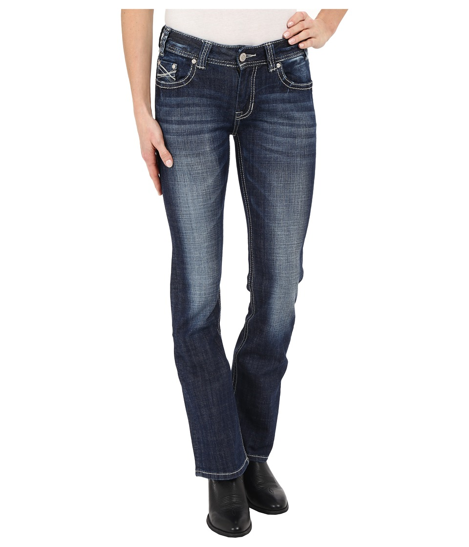 Rock and Roll Cowgirl - Mid-Rise Bootcut in Medium Vintage W1-6435 (Medium Vintage) Women's Jeans