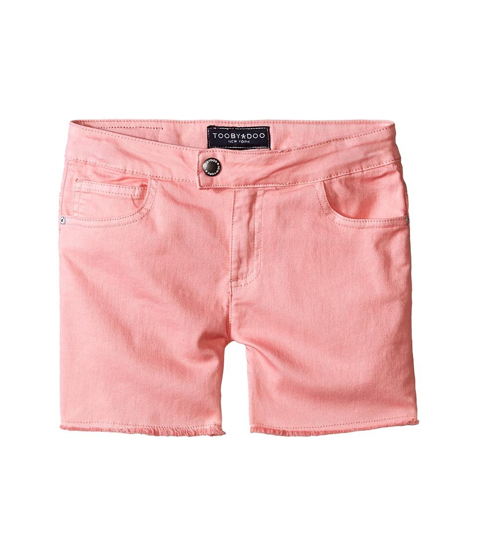 Toobydoo - Pink Jeans Shorts (Toddler/Little Kids/Big Kids) (Pink) Girl's Shorts