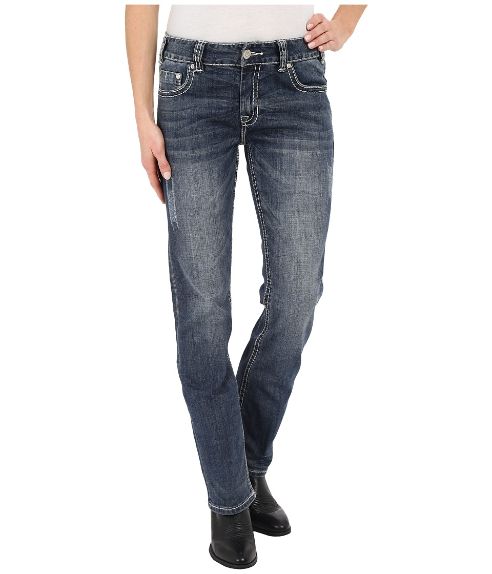 Rock and Roll Cowgirl - Boyfriend Bootcut in Medium Vintage W2-6437 (Medium Vintage) Women's Jeans