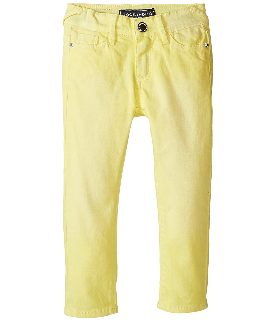 Toobydoo - Yellow Tooby Jeans (Toddler/Little Kids/Big Kids) (Yellow) Girl's Jeans