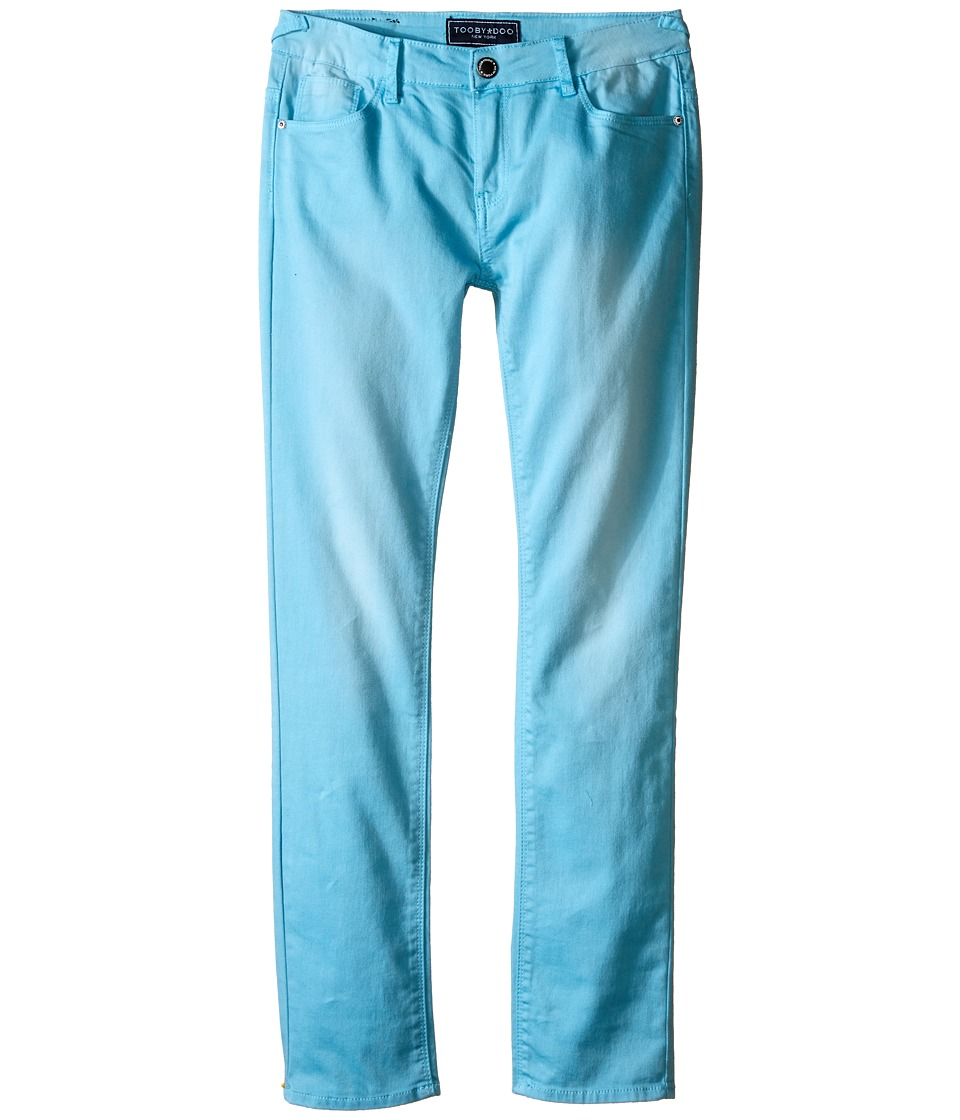 Toobydoo - Light Blue Tooby Jeans (Toddler/Little Kids/Big Kids) (Aqua) Girl's Jeans