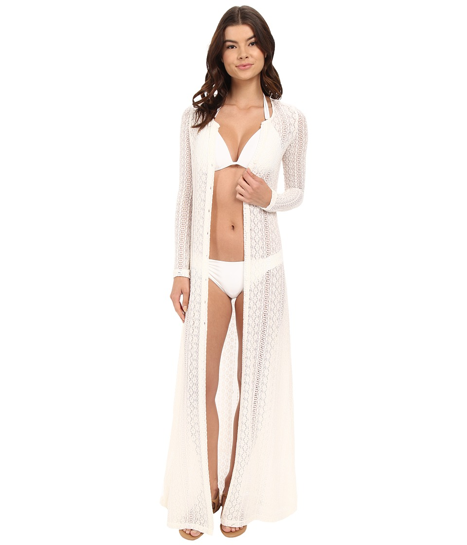 L*Space - Summer Breeze Cover-Up (Cream) Women's Swimwear