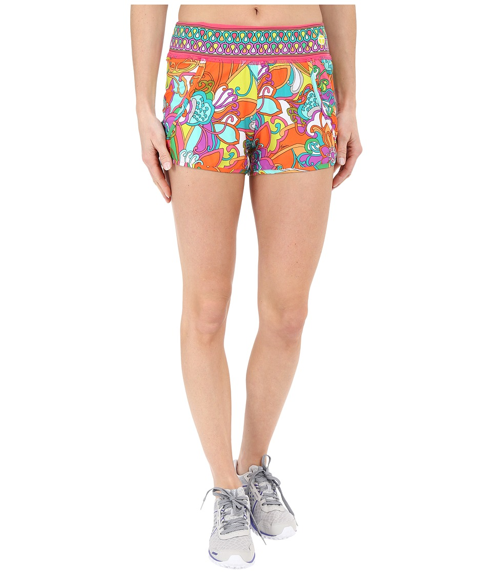 Trina Turk - Jungle Flower Running Shorts (Multi) Women's Shorts