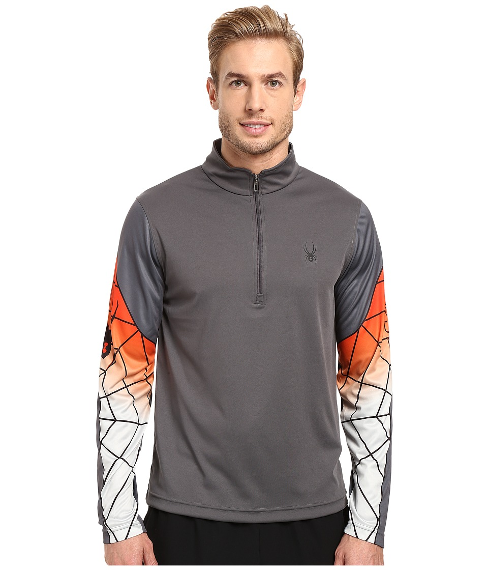 Spyder - Webstrong Dry W.E.B. T-Neck Top (Polar/Rage/Cirrus) Men's Long Sleeve Pullover