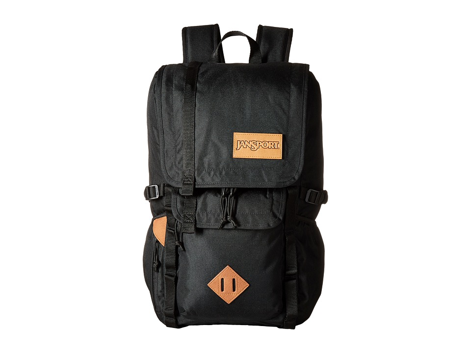 JanSport - Hatchet Backpack (Black) Backpack Bags