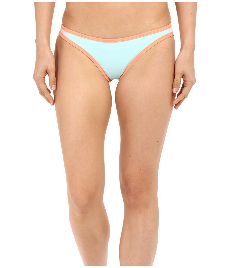 L*Space - Color Block Cosmo Itsy Bottom (Seaglass) Women's Swimwear