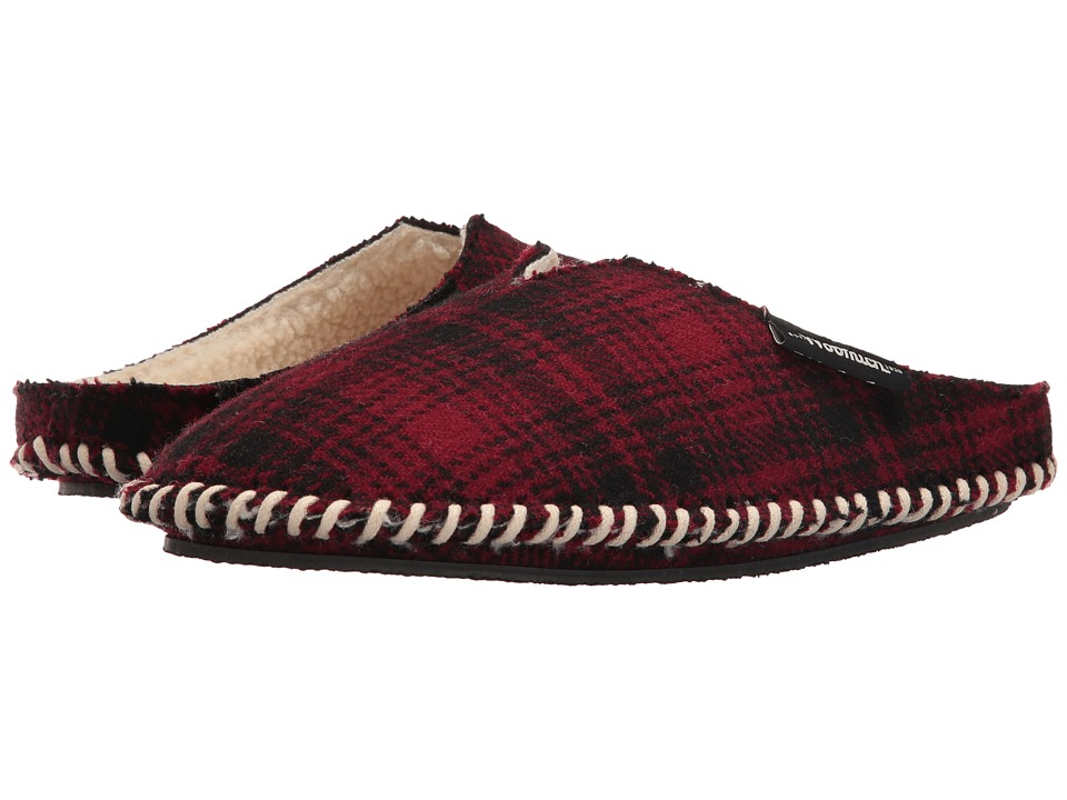 Woolrich - Wool Mill Scuff (Red Hunting Plaid Wool) Men's Slippers