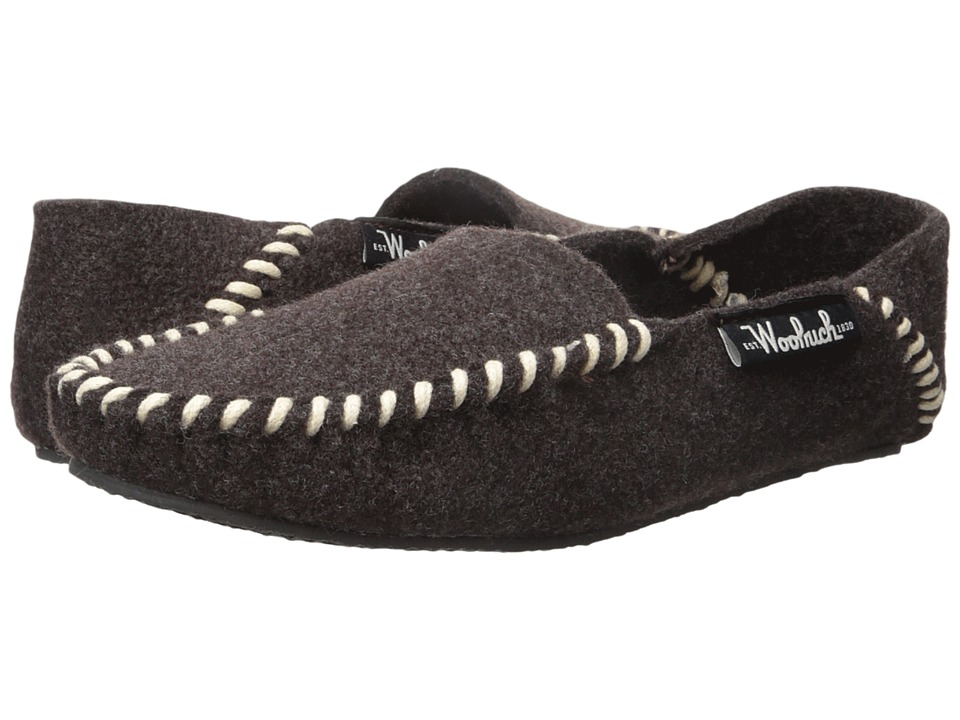 Woolrich - Felt Mill Loafer (Java) Men's Slippers