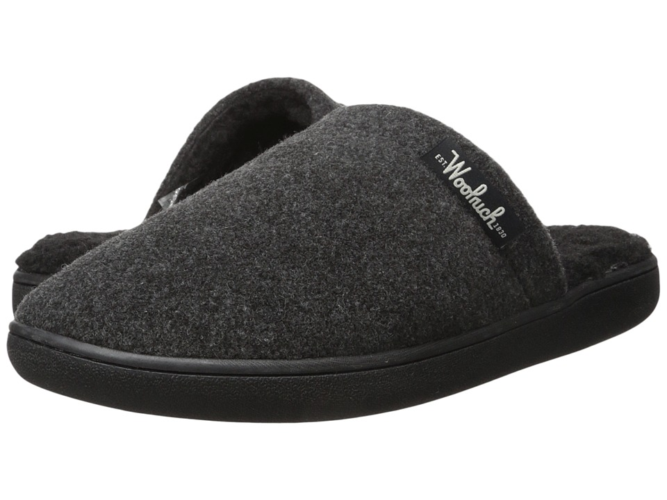 Woolrich - Chatham Camp (Charcoal Fleece) Men's Slippers