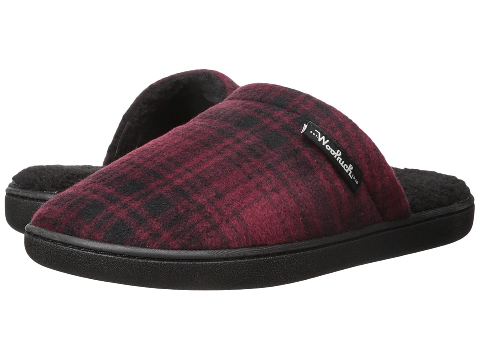 Woolrich - Chatham Camp (Red Hunting Plaid Fleece) Men's Slippers