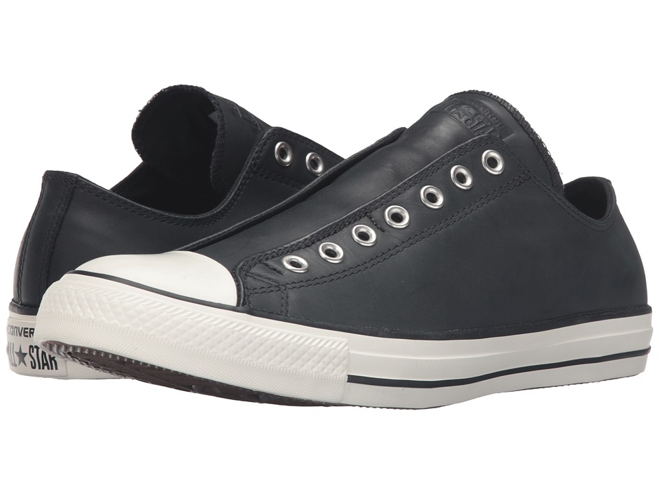 Converse - CTAS Slip (Black Leather) Shoes