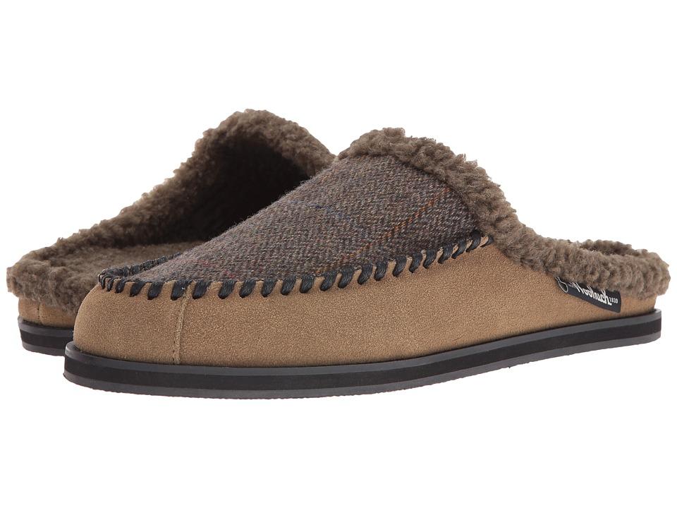 Woolrich Austin Potter Slide (Tweed Wool/Lead Gray Suede) Men