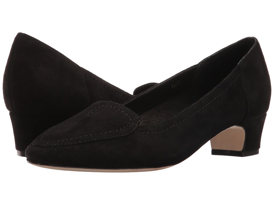 Vaneli - Alta (Black Suede) Women's 1-2 inch heel Shoes
