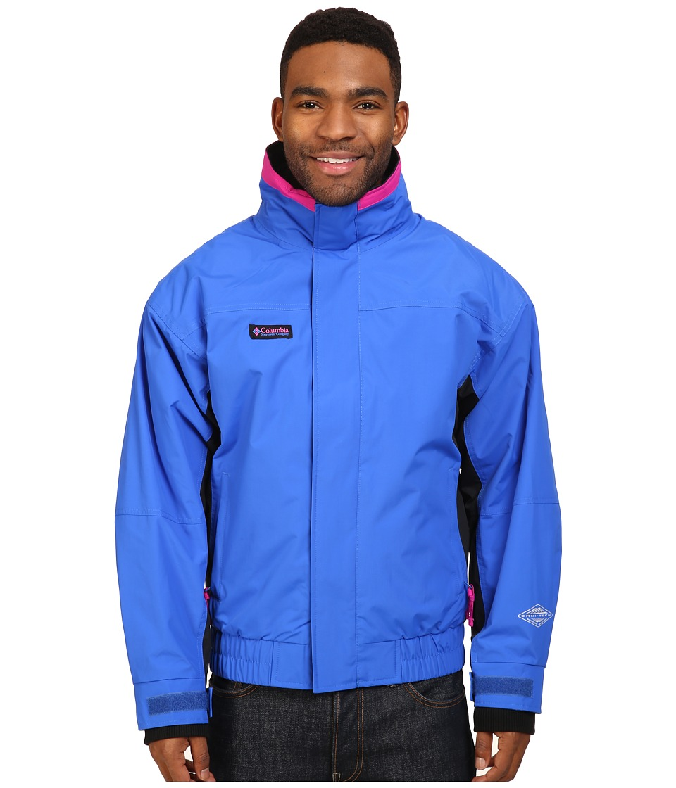 Columbia Bugaboo 1986 Interchange Jacket (Blue Macaw/Black/Groovy Pink) Men