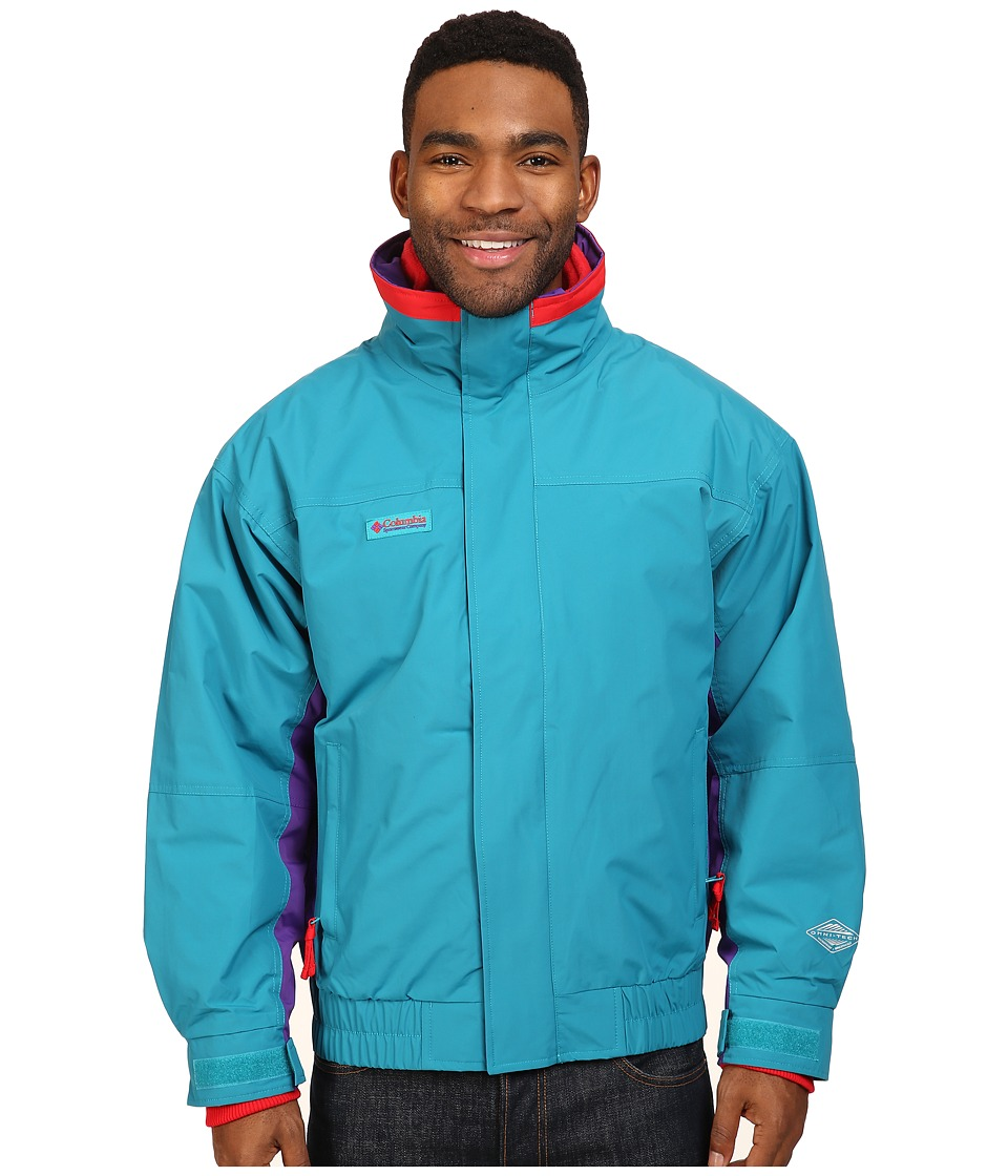 Columbia - Bugaboo 1986 Interchange Jacket (Sea Level/Royal Purple/Bright Red) Men's Coat