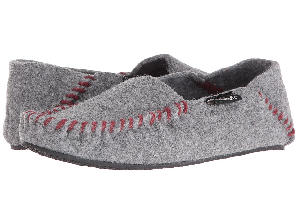 Woolrich - Felt Mill Loafer (Steel Gray) Women's Slippers