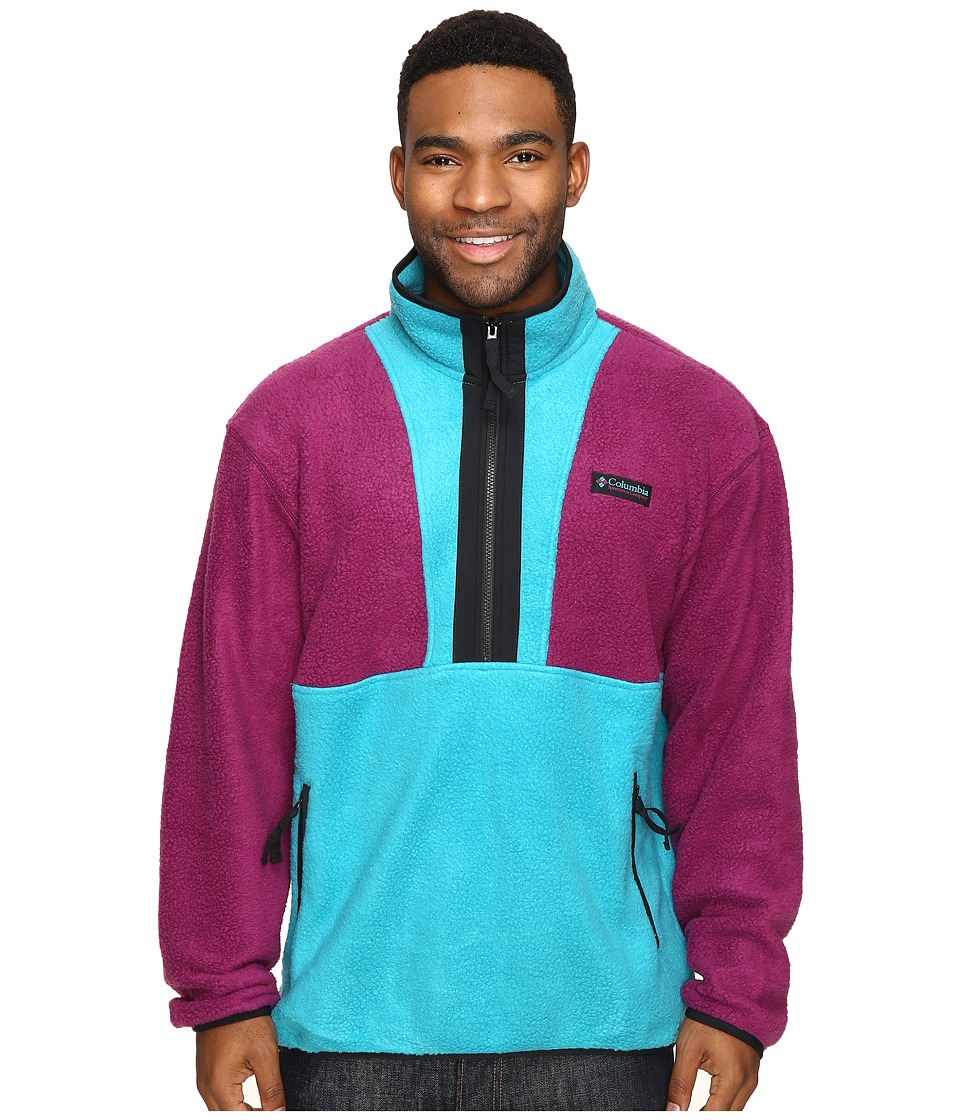 Columbia - CSC Originals Fleece (Dark Raspberry/Sea Level/Black) Men's Fleece