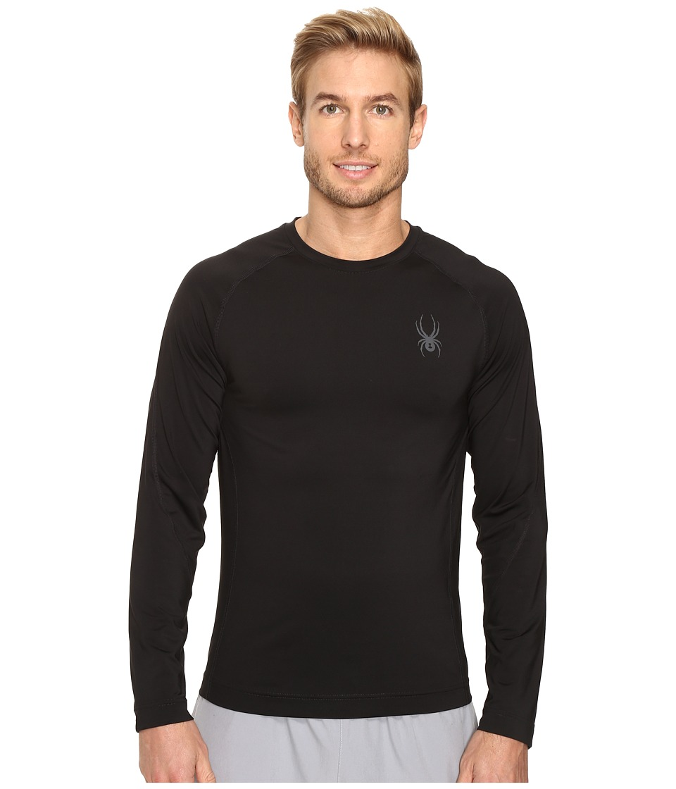 Spyder - Stryker Top (Black) Men's Long Sleeve Pullover