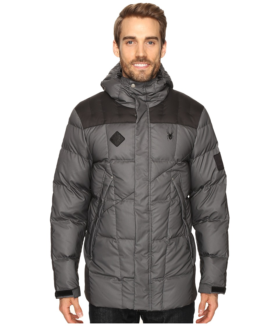 Spyder - Diehard Down Jacket (Polar/Black) Men's Coat