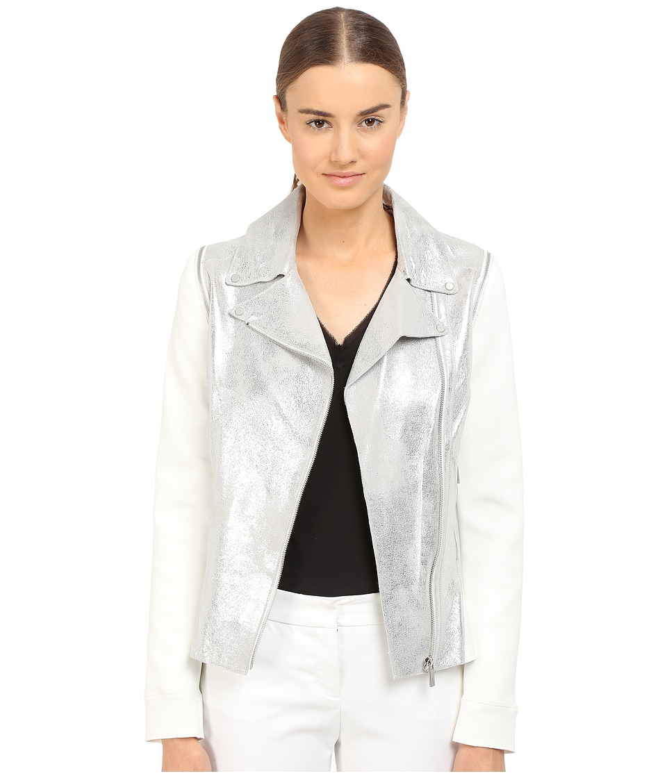 ZAC Zac Posen - Zoey Jacket (Silver) Women's Coat