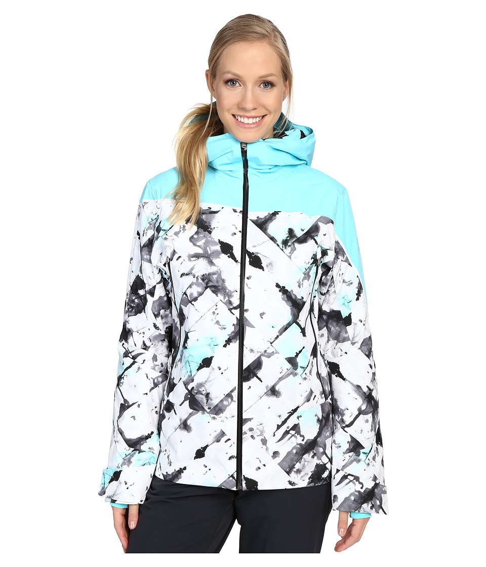 Spyder - Syncere Jacket (Frozen Freeze/Freeze/Black) Women's Coat