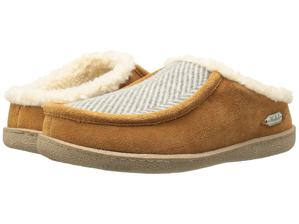 Woolrich - Plum Ridge (Herringbone Wool/Spice) Women's Slippers