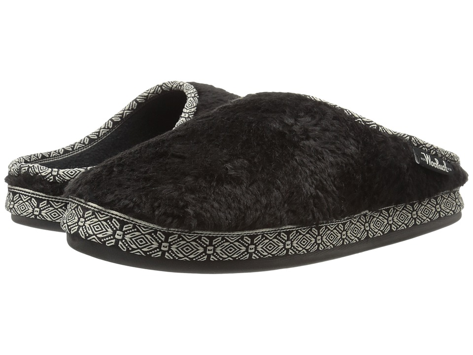 Woolrich - Whitecap Mule (Black) Women's Slippers